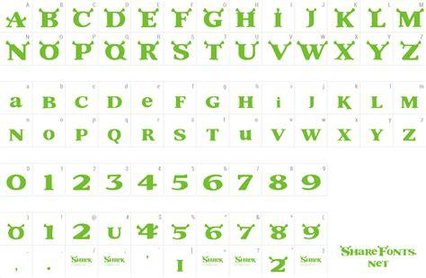 download free font shrek