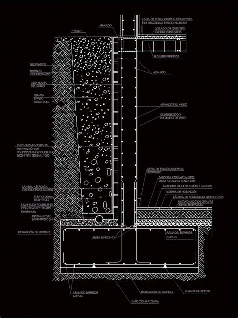 wall pattern dwg concrete retaining wall dwg detail for autocad designs cad