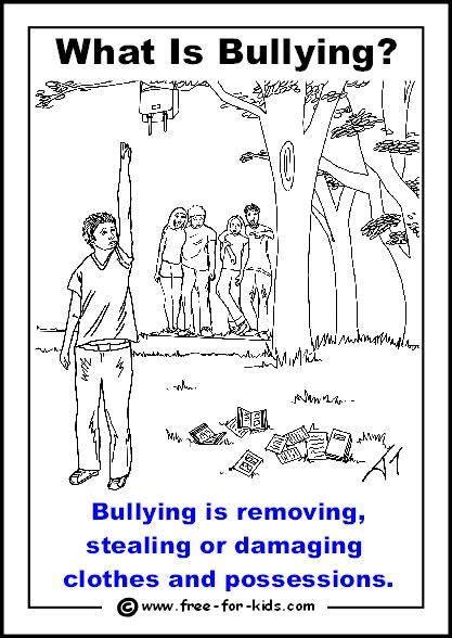 anti bullying coloring pages for kindergarten free bullying worksheets for kindergarten 37 free esl