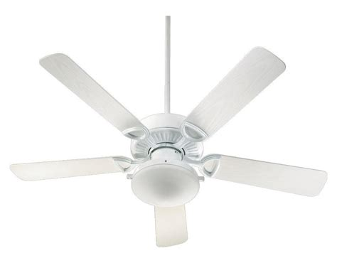 White Outdoor Ceiling Fans With Lights by Quorum Two Light White Outdoor Fan White 143525 906 From