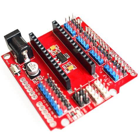Nano Shield multi function funduino nano shield expansion board for
