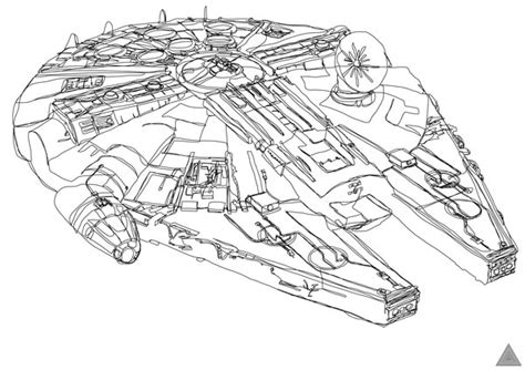 star wars millennium falcon coloring page one line star wars drawings break all boundaries bit rebels