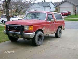 1987 Ford Bronco 1987 Ford Bronco Pictures Cargurus