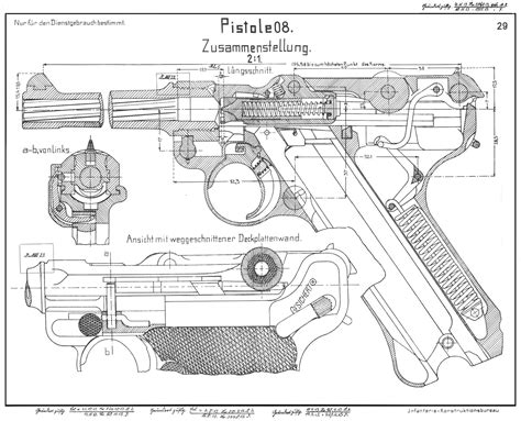 online blueprints luger p08 blueprint download free blueprint for 3d modeling