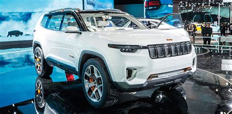 Jeep 3 Row Suv Jeep Yuntu Three Row Concept Suv Unveiled In Shanghai