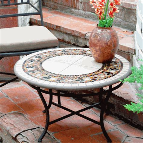 knf garden designs mosaic coffee table 30 quot