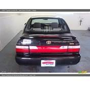 1997 Toyota Corolla DX In Satin Black Metallic Photo No