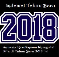 gambar kata ucapan selamat tahun baru 2018 terbaru