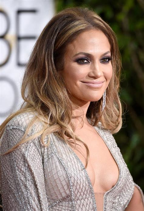 what kind of lipstick does jennifer lopez use golden globes 2015 celebrity hairstyles and makeup