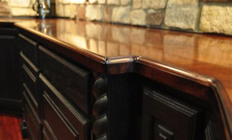 Wood Bar Top Finishes by Commercial Or Residential Wood Bar Top Photos For Bar