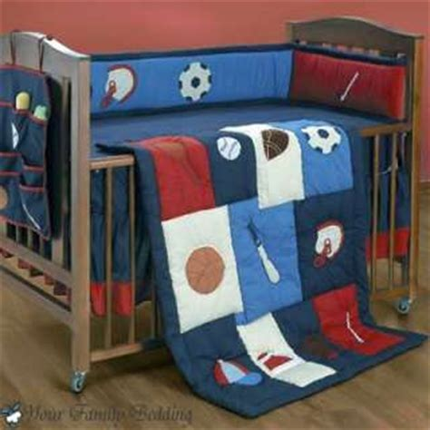 Baseball Crib Bedding Set Baseball Sports Nursery 6pc Baby Boy Football Crib Bedding Set