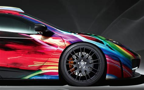 colorful cars colorful mclaren mp4 12c by hamann bmw cars