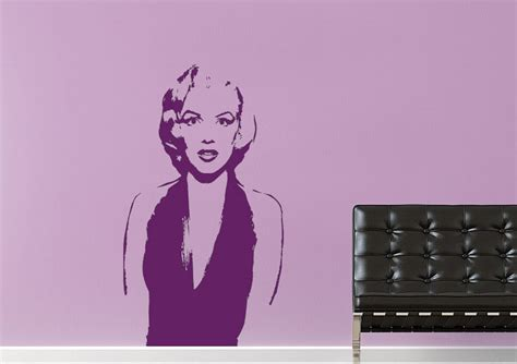 wall stickers marilyn marilyn dinner table wall stickers adhesive wall sticker