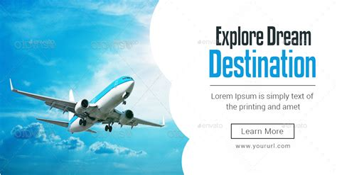 design banner travel tours travels banners bundle 6 sets by doto graphicriver
