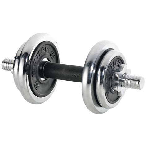 Dumbell Kettler 2 Set 20 Kg power chrome rubber dumbbell set