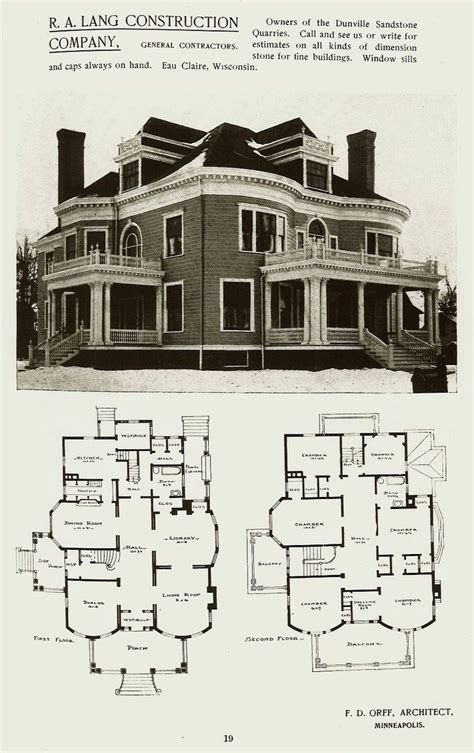 victorian manor floor plans would make the porch wrap around the front corner and add