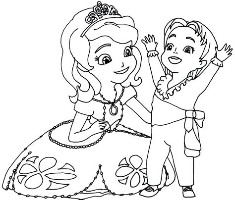 queen miranda coloring page sofia the first drawing sofia the first coloring pages