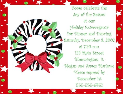 christmas invite ryhmes office invitation wording cimvitation