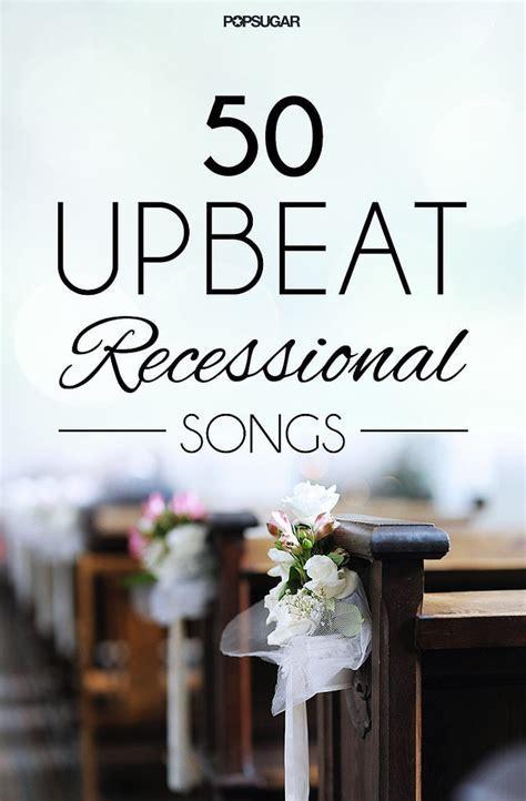 Recessional Songs For Weddings   POPSUGAR Love UK