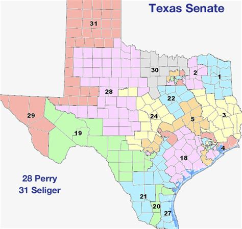texas state representative map texas senate district 17
