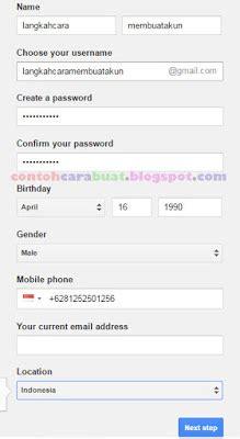 membuat alamat email google cara membuat alamat email di google dengan tilan gmail