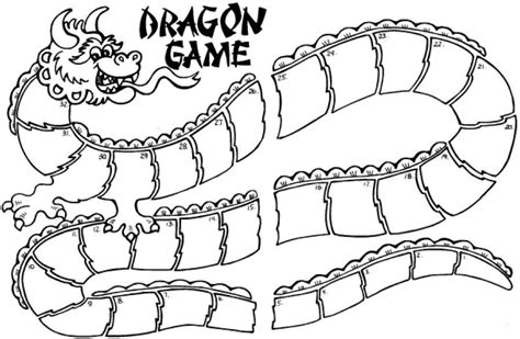 dragon coloring pages games chinese dragon printable coloring home