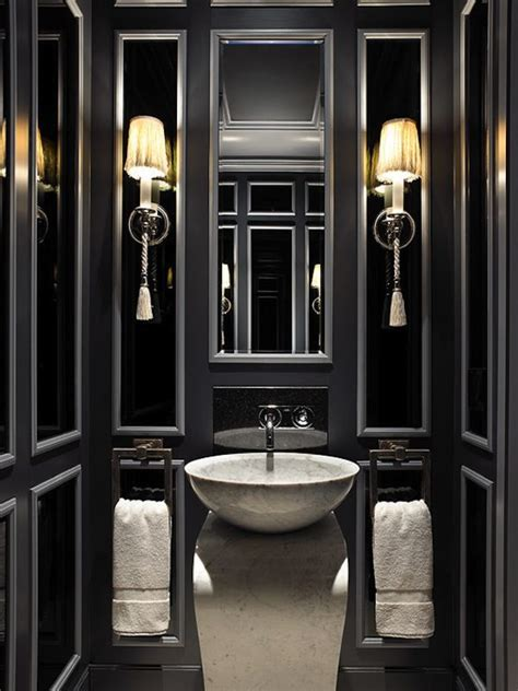 dark painted bathrooms best paint color for small space linda holt interiors