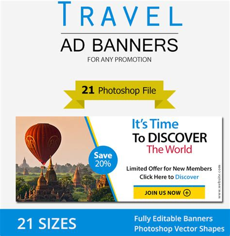 banner ad template 50 free psd format download free