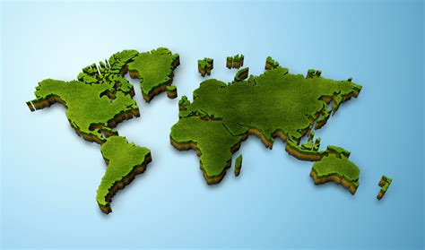 three to the world 3d map of the world roundtripticket me