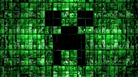 green wallpaper video games minecraft creeper full hd wallpaper and background