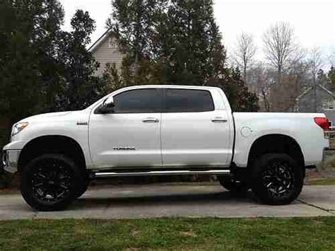 toyota tundra 2012 lifted buy used 2012 toyota tundra platinum edition fully loaded
