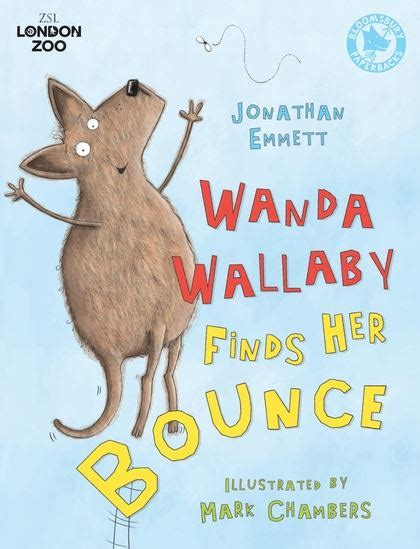 finds bounce books wanda wallaby finds bounce jonathan emmett