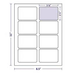 Avery Template 5395 by Adley Name Badge Labels 800 Per Box 8 Per Sheet Laser