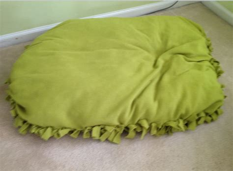 floor pillow bed diy no sew doggy bed or floor pillow tips n giggles