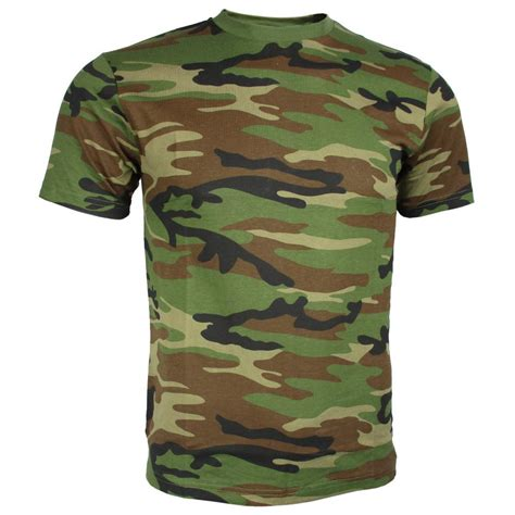 Camo Shirts Camouflage T Shirts Army And Outdoors