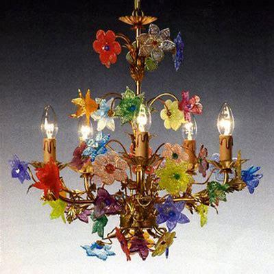 fiori di murano radon lightshop murano ladario in vetro ladario