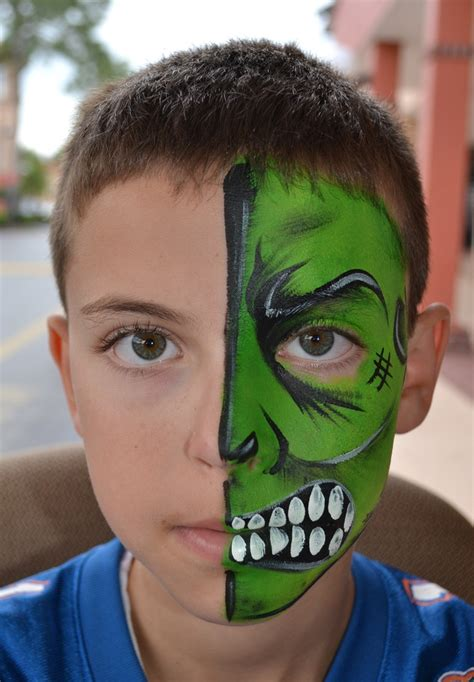 soccer ball with flames boy s face painting by let s 174 best face paint boy designs images on pinterest face