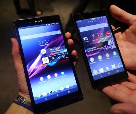 the xperia z ultra sony s mini tablet sized phone wants