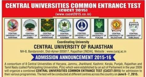 Central Of Rajasthan Mba Admission by Educational Helpline For Maharashtra Central