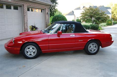 Alfa Romeo Spider 1991 by 1991 Alfa Romeo Spider Classic Italian Cars For Sale