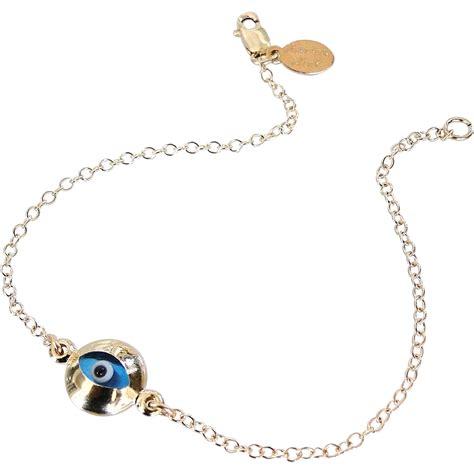 Evil Eye Jewellery by Lucky Evil Eye Bracelet Gold Filled Style