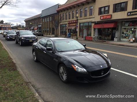 Maserati Of New Jersey by Maserati Quattroporte Spotted In Ridgewood New Jersey On