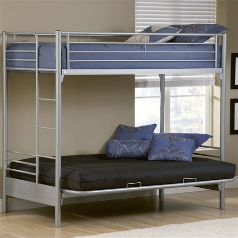 bunk beds twin over futon hillsdale universal youth twin over futon bunk bed in