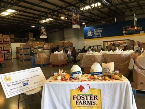sacramento food bank sacramento food bank receives 640 turkeys for thanksgiving