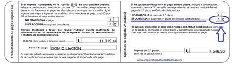 plazo declaracion de renta 2016 segundo plazo de la renta impuestos para andar por casa