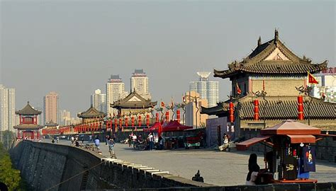 7 80s Pictures From And The City 2 by Xian City Walls China Asia