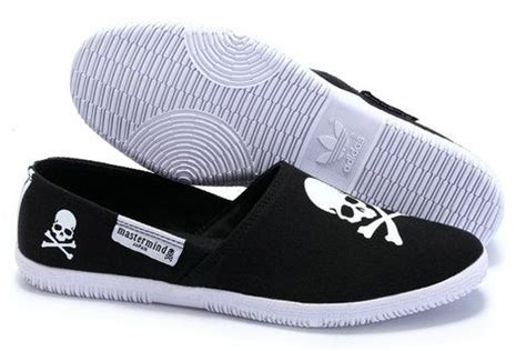 adidas adidrill flats black skulls cool shoes for my wishlist white casual shoes adidas