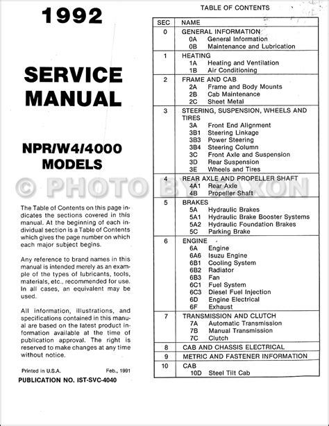 service manual best car repair manuals 1992 gmc 2500 club coupe parking system manual for a 2002 isuzu npr repair manual wiring diagrams wiring diagram schemes