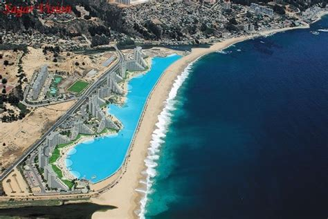 largest backyard pool worlds largest outdoor pool beautiful places to visit