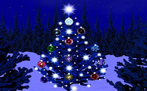 15 christmas tree in lights wallpapers merry christmas